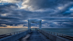 Thursday morning (NOL LUV DI) Tags: seascape landscape sunrise clouds sea platform napier hawkesbay