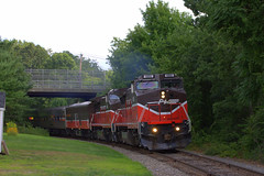 P&W Passenger Extra (NE Trains & Aviation) Tags: engine providence and worcester pw b408w