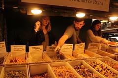 Pike's Place Pasta Shuffle (bross.emma) Tags: people market pikesplace seattle washington travel pasta vendor