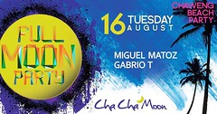 08-16-16 Cha Cha Moon Beach Club Koh Samui Presents Full Moon Party (clubbingthailand) Tags: kohsamui dj club beach party thai thailand httpclubbingthailandcom