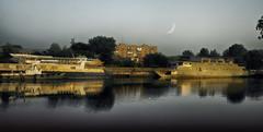 Etude #160728DSC2030. (ptrbsh30) Tags: digitalphoto digitalart landscape river evening reflection vater impression