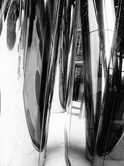 lights and reflections (Darek Drapala) Tags: lumix light bw blackwhite blackandwhite panasonic poland polska panasonicg5 warsaw warszawa urban industrial architecture art reflection reflects