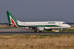 EI-RDJ-FRA220813 (MarkP51) Tags: eirdj embraer 175 alitalia cityliner ct cyl frankfurt am main flughafen airport fra eddf germany airliner aviation aircraft airplane plane image markp51 nikon d5000 aviationphotography
