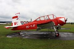 OK-YJF Z-37 at Mlada Boleslav (flyingaxel) Tags: aviation zlin let z37 mlada boleslav duster ag