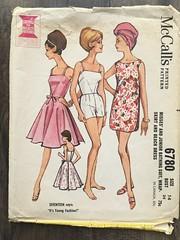 6780 (mrogers1@uw.edu) Tags: sewingpatterncollection 1960s dress skirt swimsuit shorts seventeen youngfashion pants beachwear