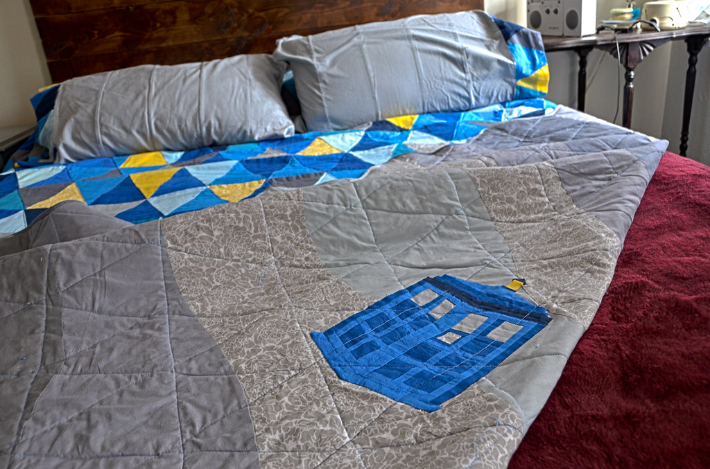 best of gallery crafts tardis quilt the world s best photos of sewing and tardis flickr hive 343