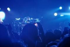 Screeners (Rafa Matos) Tags: show new york nyc travel blue light monochrome rock mobile metal night dark lights mono concert opera phone tech audience manhattan live gig crowd flor band cellphone center screen nightlife wish heavy rockband jansen hammerstein tarja turunen tuomas symphonic