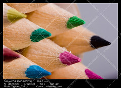 Colour pencils (__Viledevil__) Tags: wood blue school espaa orange white color colour green art closeup pen pencil pencils design artist artistic drawing background tools colored write sanfernando cdiz