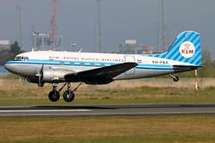 PH-PBA_11 (GH@BHD) Tags: vintage aircraft aviation piston klm douglas dc3 dakota airliner c47 dda bhd propliner royaldutchairlines belfastcityairport dutchdakotaassociation phpba