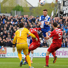 """Bristol Rovers v Alfreton Town 250415 • <a style=""""font-size:0.8em;"""" href=""""http://www.flickr.com/photos/125622569@N04/17098404800/"""" target=""""_blank"""">View on Flickr</a>"""