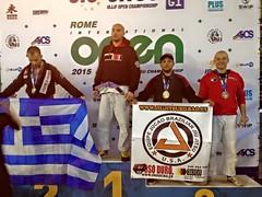 Lukasmar Bandeira 3º Puesto en el Open de Roma Italia 10-04-2015 Team Jucao Spain euskadi