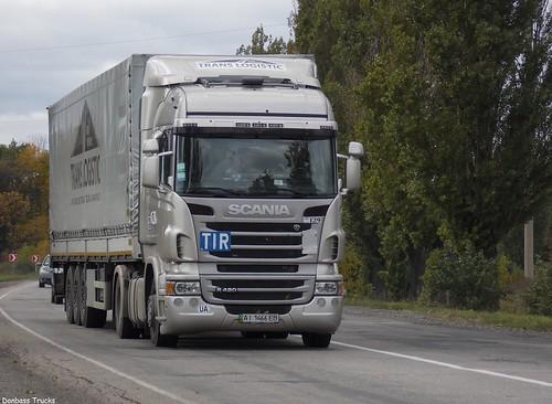 Scania R420 'Trans Logistic' (ua)