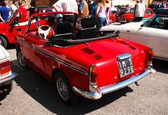 Autobianchi Bianchina cabriolet (1963) (maximilian91) Tags: italy italia liguria oldcars vintagecars bianchina autobianchi italiancars montoggio autobianchibianchina autobianchibianchinacabriolet