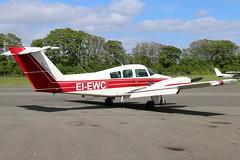 EI-EWC (GH@BHD) Tags: aircraft aviation beechcraft beech duchess westonairport be76 eiewc