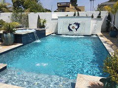 "Light Gray plaster on newly built pool • <a style=""font-size:0.8em;"" href=""http://www.flickr.com/photos/71548009@N02/18249548360/"" target=""_blank"">View on Flickr</a>"