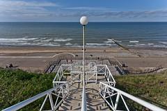 Down to the promenade (opobs) Tags: beach seaside norfolk steps cromer