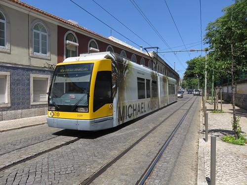 Tram 509 de Lisbonne (Portugal)