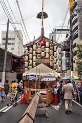 Hoka-hoko, Gion Matsuri, Kyoto (jtabn99) Tags: street japan town alley kyoto   nippon gion nihon  inthemiddle chochin    20160715