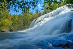 Bond Falls State Park | Michigan (Wayne Gruhlke) Tags: waterfall water park statepark michigan hdr river waterscape summer longexposure