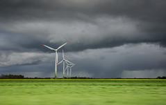 20160514-DSC_7873 (emr-foto) Tags: badweather schlechteswetter regen rain wolkenbruch dunklewolken darkclouds shower schleswigholstein germany windkraftrder windkraftanlage windpowerstation