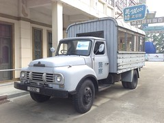 Replica police Bedford TJ lorry (Yanamation) Tags: xiqiao dreamworks national arts film studios   guangdong foshan  timetravelling 50 60 hong kong nostalgia  backlot fight final man ip     police vehicle bedford lorry vauxhall prop