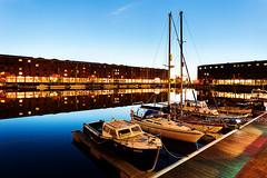 Albert Dock (Brian Sayle) Tags: albertdock docks dockland sailing boats bluehour 6d canon6d canoneos6d eos6d lowlight darkness dark night nightphotography nighttime nightshot longexposure architecture liverpoolcitycentre citycentre liverpool mannisland pierhead canon1740 ef1740mmf4l 1740
