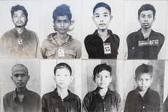 044-Cambodia (Beverly Houwing) Tags: school cambodia classroom photos communism torture phnompenh isolation cells imprisonment s21 interrogation khmerrouge tuolsleng polpot kampuchea genocidemuseum