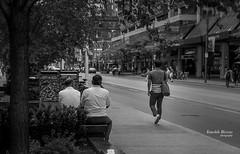 The Messenger (s1ss0r) Tags: messenger young message bw walk street messageoflove watching longwalk streetsoftoronto iluvtoronto toronto ontario blackwhite dundast
