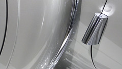 A13197 / car abstract with chrome and reflections (janeland) Tags: california detail classic car reflections losangeles automobile antique january vehicle platinum 2016 petersenautomotivemuseum 90036 noncoloursincolour thepetersen median3