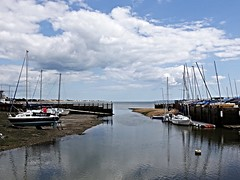 Hillhead Harbour on the Solent (Nick.Bayes) Tags: hampshire solent hillhead harbour boats
