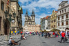 Prague (Voyages Lambert) Tags: people prague tourist oldsquare