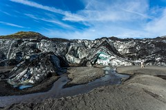 Solheimajokull Iceland (Einar Schioth) Tags: solheimajokull glacier water sky summer sunshine day canon clouds cloud coast canyon nationalgeographic ngc nature landscape lake photo picture outdoor iceland sland ice einarschioth
