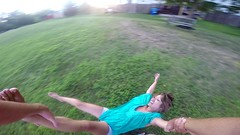 Fresh Air (AngelBeil) Tags: werehere topdown goprospin fountainofyouth lookdown lookup