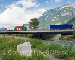 REU480 Autobahn A2 Brcke (Motor Highway E35 Bridge) over the Reuss River, Seedorf-Altdorf, Canton Uri, Switzerland (jag9889) Tags: 2016 20160728 a2 alpine altdorf bridge bridges brcke ch cantonofuri centralswitzerland crossing europe helvetia highway infrastructure innerschweiz kantonuri motorway outdoor pont ponte puente reuss river roadbridge schweiz seedorf suisse suiza suizra svizzera swiss switzerland uri water waterway zentralschweiz jag9889