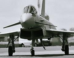 Hot Typhoon (Fleet flyer) Tags: fighter gloucestershire eurofighter typhoon raf riat royalinternationalairtattoo royalairforce raffairford eurofightertyphoon typhoonfgr4 fgr4 eurofightertyphoonfgr4