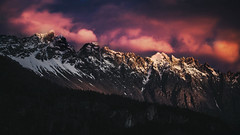Piltri sunset (JuliDistasio) Tags: piltri piltriquitrn sun sunset sunshine colors color colorful montaas mountain mountains canon canon650d canont4i snow weather nature naturaleza mutedcolors
