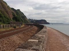 Great Western Main Line by Teignmouth beach (Ulleskelf) Tags: teignmouth devon greatwesternmainline railway railways
