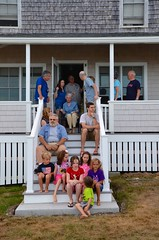 Setting Up For The Family Photo (Joe Shlabotnik) Tags: rich carolina annm verne davidb maine johnm july2016 davidm violet higginsbeach sue gabriella phyllis helent dylans 2016 katem diego margaret everett afsdxvrzoomnikkor18105mmf3556ged
