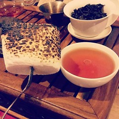 A perfect pairing, Gui Fei and toasted marshmallows  (teaformepleasenicole) Tags: tea