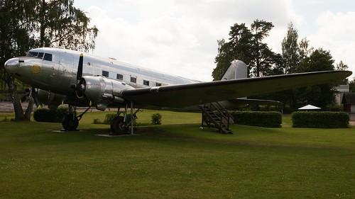 Douglas C-47-DL DC-3A-360 Tp 79 in Karlsborg