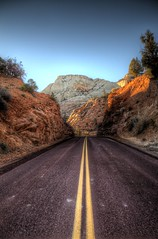 Zion road trip. (CloudPhotoz) Tags: zion parck national parc usa united state america amrique voyage rue street road trip hdr