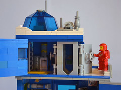 Ice Planet Research Complex 11 (IamKritch) Tags: space classicspace science base neoclassicspace lego