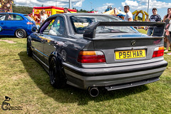 Car Show  42 (View From The Chair Photography) Tags: modded car carshow bmw beemer