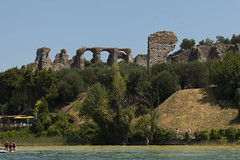 Grotte Di Catullo Roman Ruins, Sirmione, Italy (jeannetbijlsma) Tags: water lake gardalake lagodigarda italy sirmione grottedicatulle ruines blue holiday