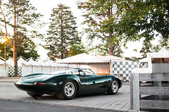 The one and only XJ13 (Aimery Dutheil photography) Tags: jaguar jaguarxj xj13 jaguarxj13 onofone oneoff jag britishracinggreen v12 classic classiccar supercar lemans lemans24 lemansclassic evening amazing exotic fast speed canon 70d