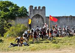 Battle of Wisby, Medeltidsveckan, Gotland 2016 (Bochum1805) Tags: battleofwisby 1361 historicalreenactment massakernvidmuren
