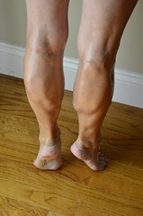 _DSC0063jj (ARDENT PHOTOGRAPHER) Tags: calves muscular female woman flexing skinny mature milf gilf highheels tiptoe