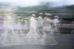 Hillsboro (Tony Pulokas) Tags: oregon summer pinhole july4 parade people blur motionblur intentionalcameramovement hillsboro
