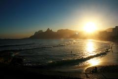 Ipanema and Sunset - RIO (Klauss Egon) Tags: rio
