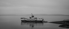 Calmac, Lismore (Chilanga Cement) Tags: lismore scotland fuji fujix100t x100t xseries x100s x100 ferry calmac island water waterreflection car carferry transport
